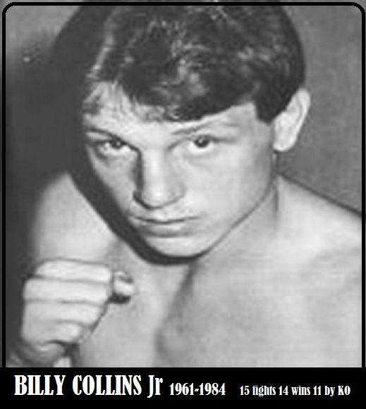 BILLY COLLINS Jr : GREAT CHAMPION PETIT-DIEULOIS