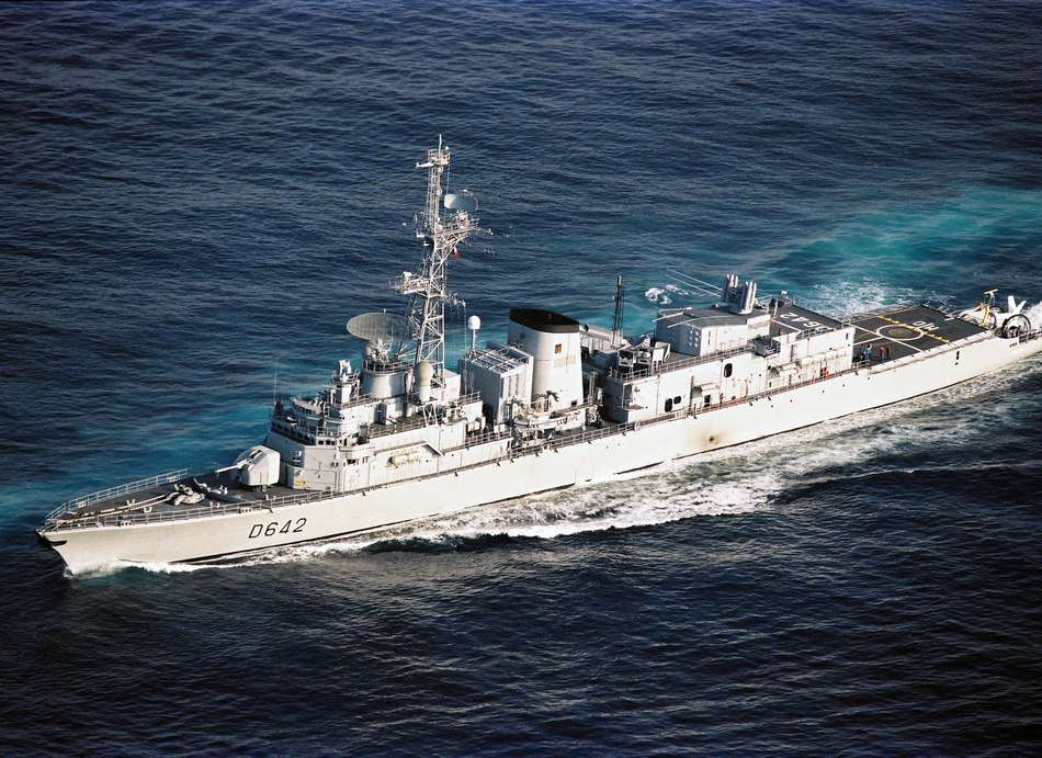 french frigate montcalm DIEULOIS