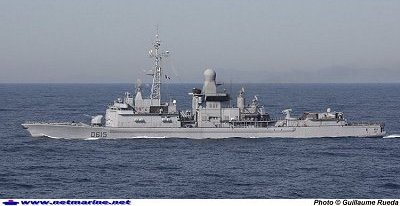 FRENCH FRIGATE JEAN BART DIEULOIS