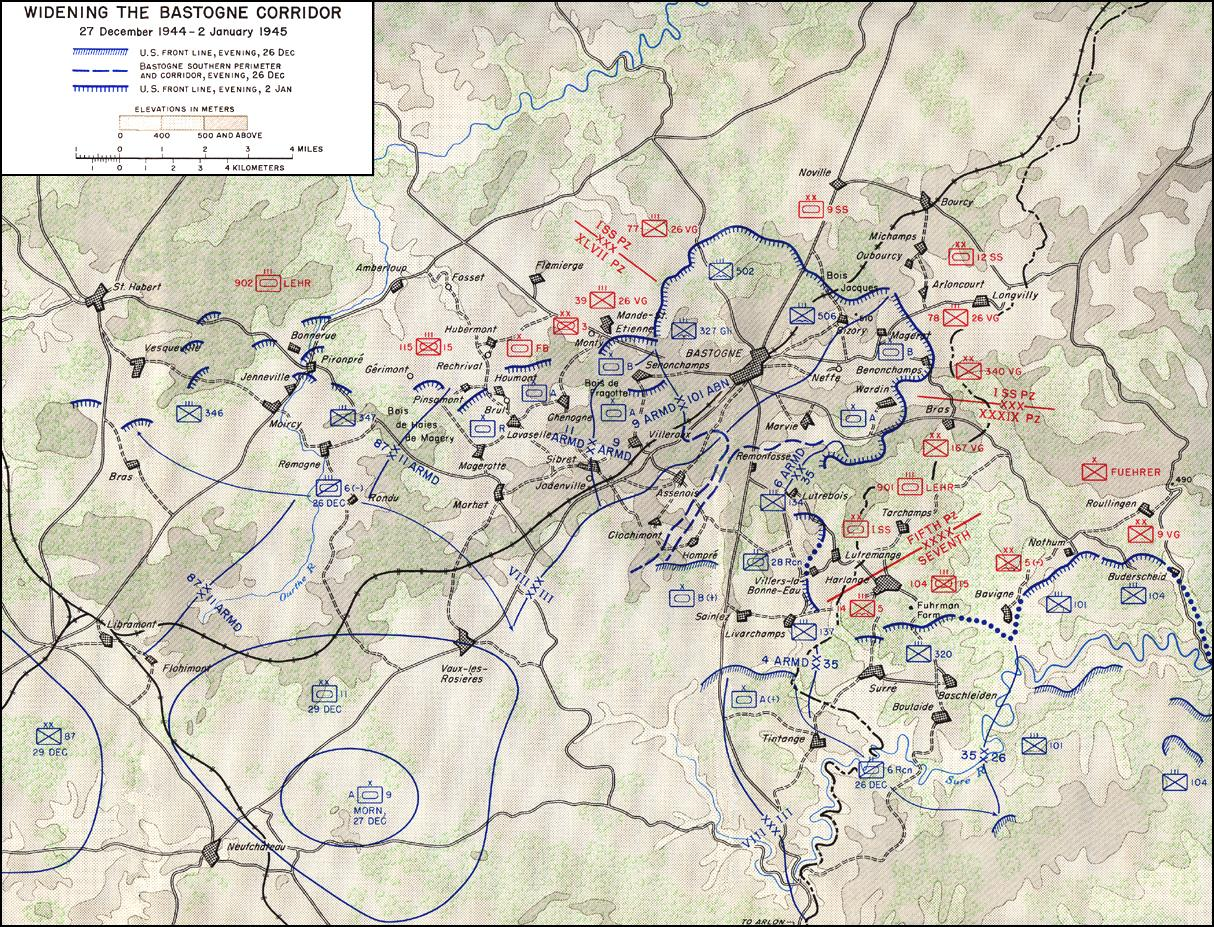 the use of archetypes and symbols in bastogne to compare the external war of the battle of the bulge Malmedy massacre - wwii the city of bastogne under siege during the battle of the bulge the city of bastogne with their war paint on battle of the bulge.