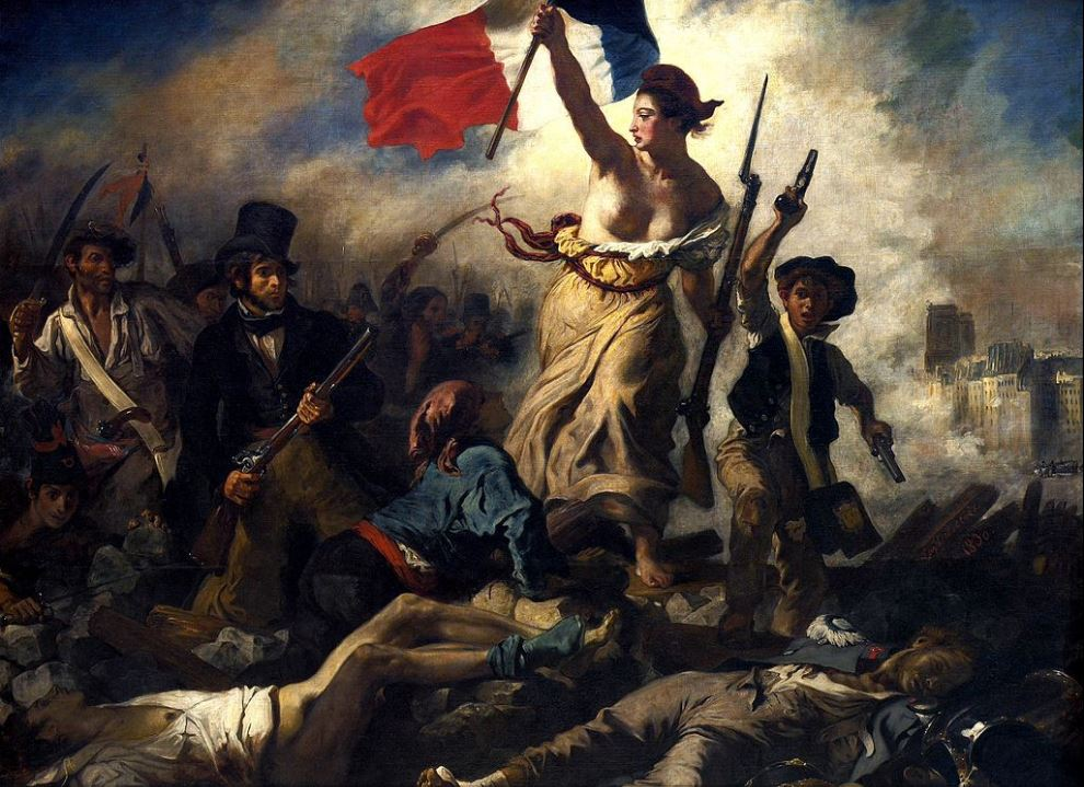 EUGENE DELACROIX-Liberty Leading the People-1830-PETIT-DIEULOIS