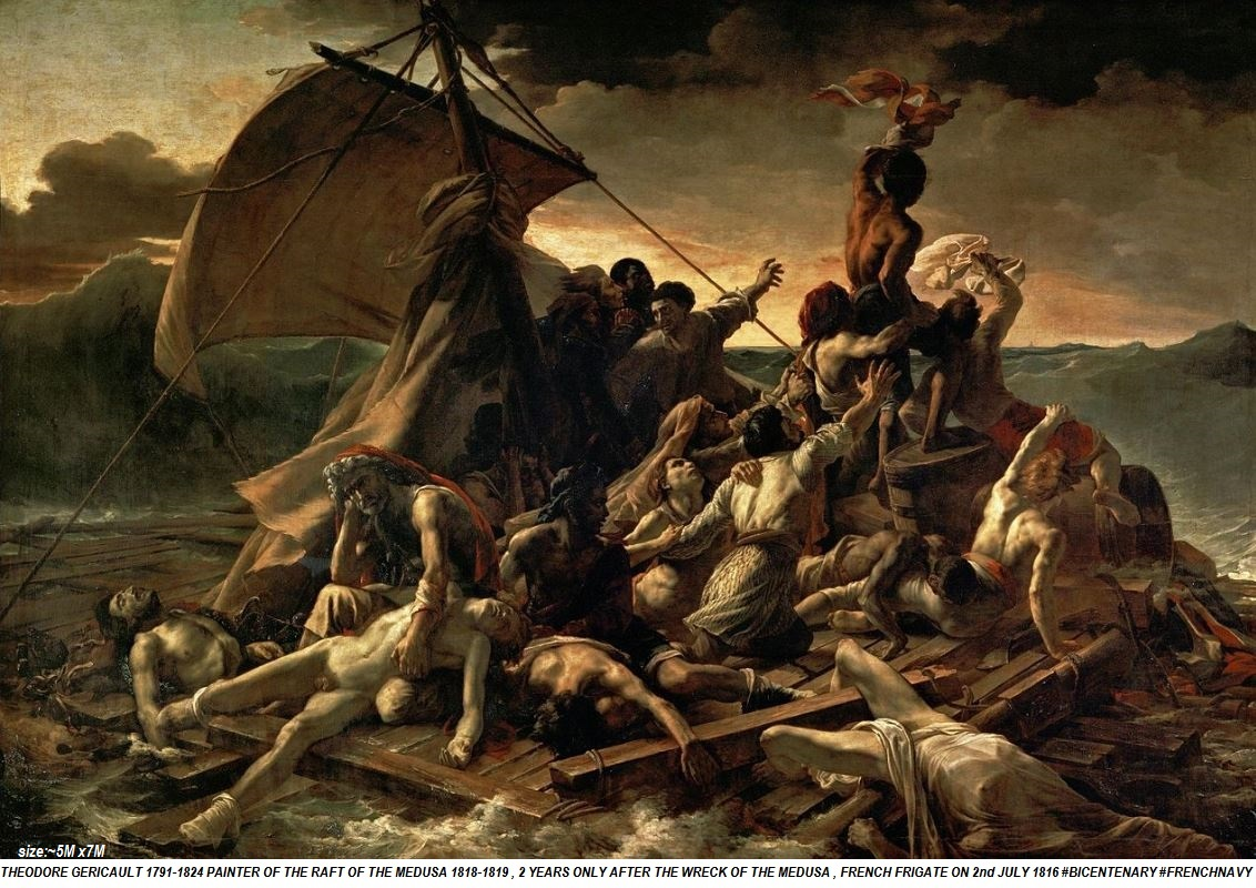 GERICAULT: THE RAFT OF THE MEDUSA 1818-1819-PETIT-DIEULOIS