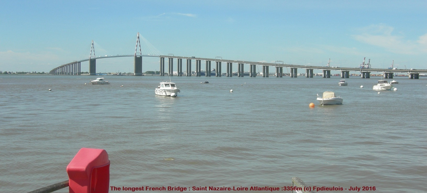 LONGEST FRENCH BRIDGE :3356m SAINT NAZAIRE-DIEULOIS