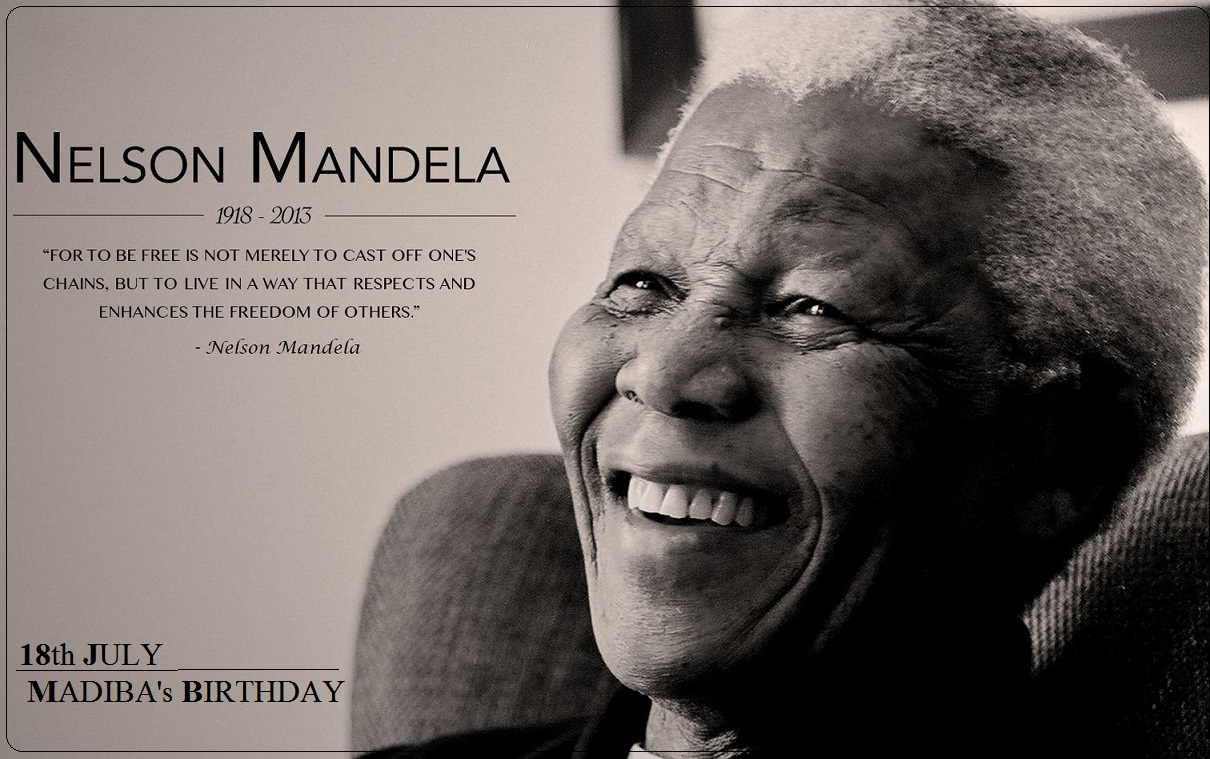 18th JULY : MADIBA's BIRTHDAY  PETIT-DIEULOIS