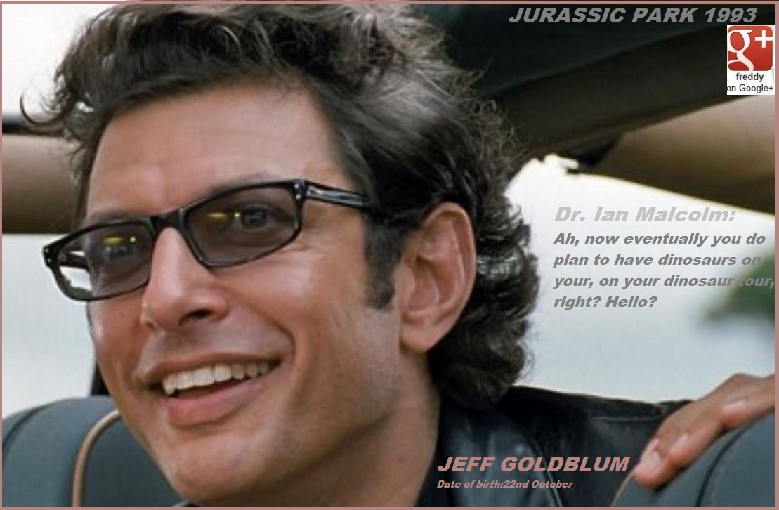 JEFF GOLDBLUM DIEULOIS