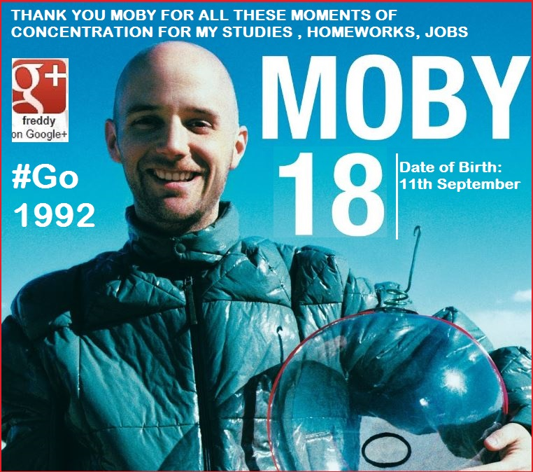 ELECTRO MOBY GO 11 SEPTEMBER