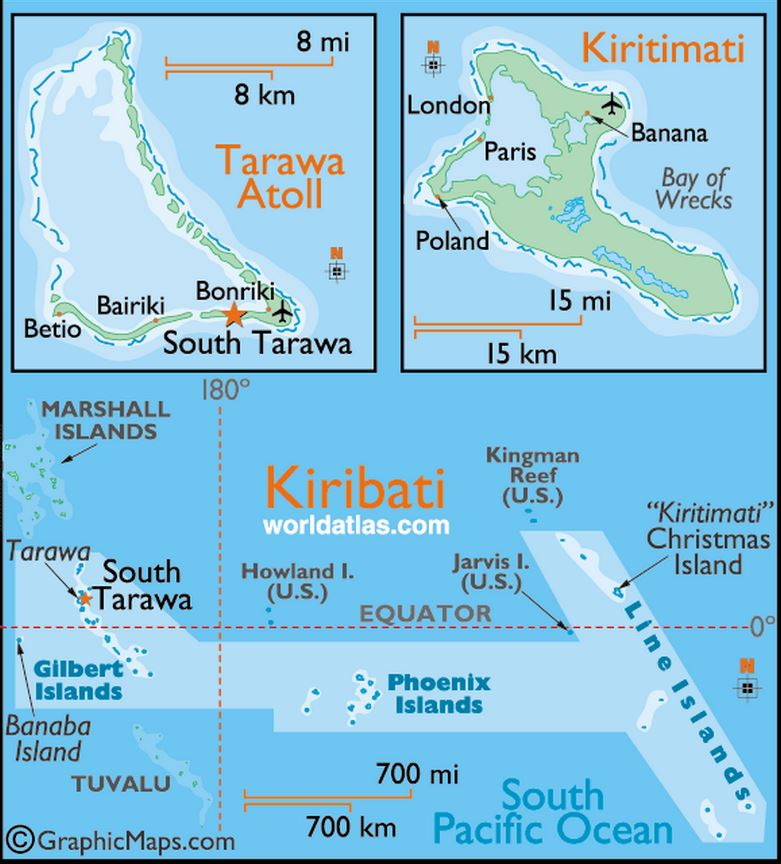 OCEAN ISLANDS : GILBERT THEN KIRIBATI PETIT-DIEULOIS