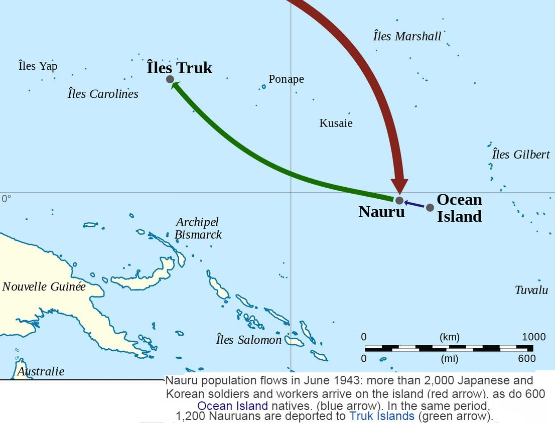 OCEAN ISLANDS : GILBERT THEN KIRIBATI
