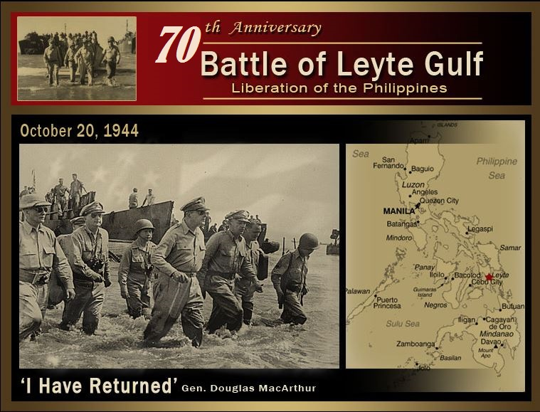 BATTLE OF LEYTE GULF  DIEULOIS