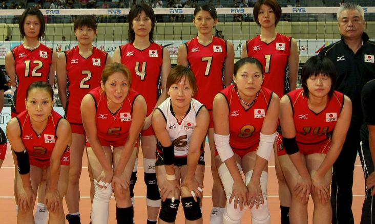 JAPAN VOLLEY TEAM