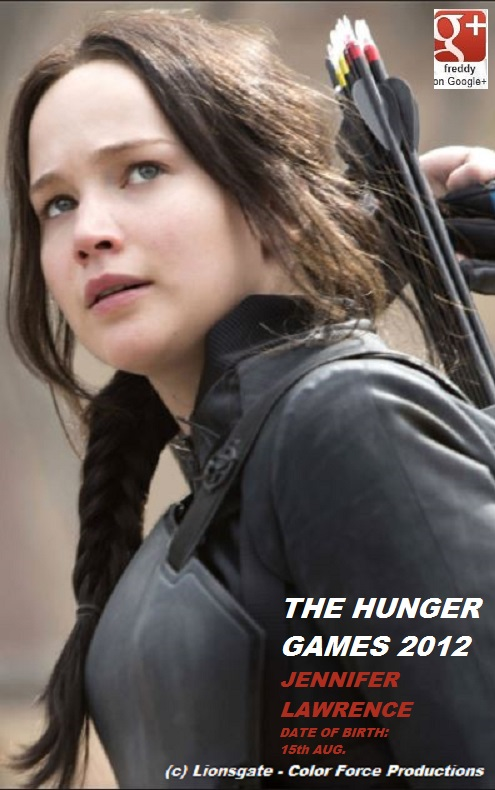 Jennifer Lawrence HUNGER GAMES PETIT-DIEULOIS