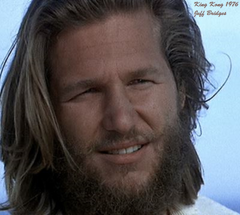 KING KONG 1976: JEFF BRIDGES PETIT-DIEULOIS