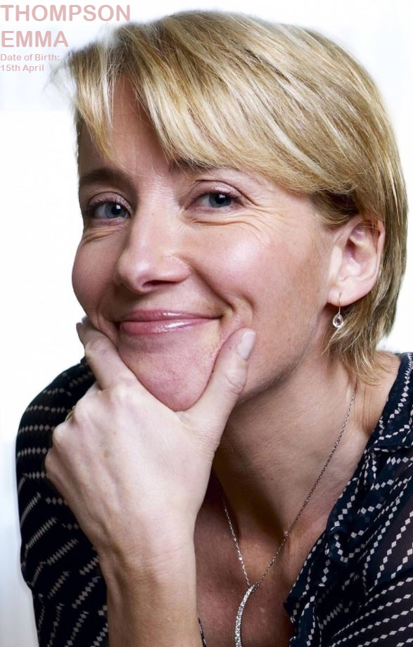 EMMA THOMPSON--PETER's FRIENDS DIEULOIS
