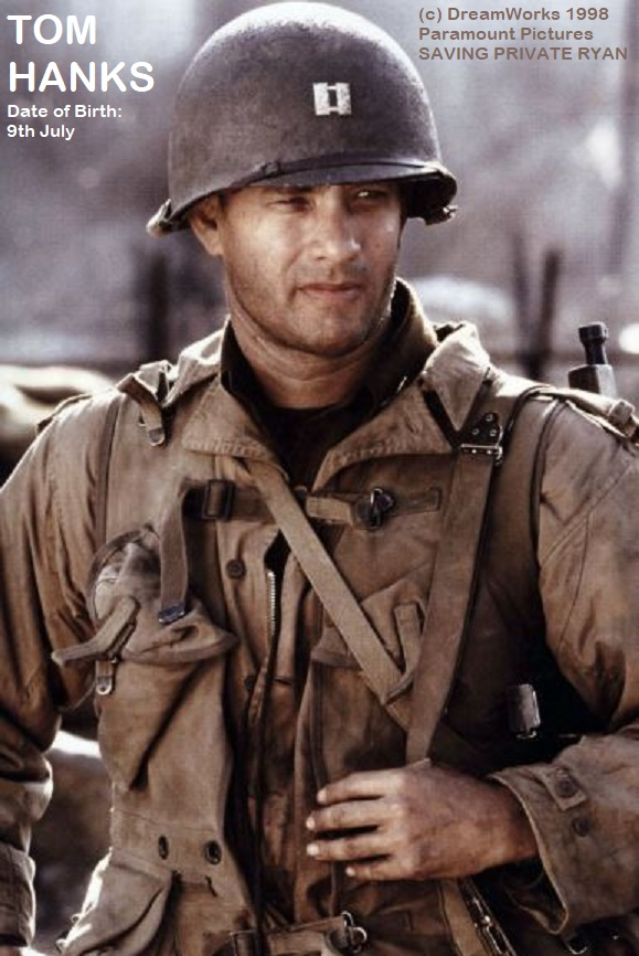 TOM HANKS SAVING PRIVATE RYAN  1998 PETIT-DIEULOIS