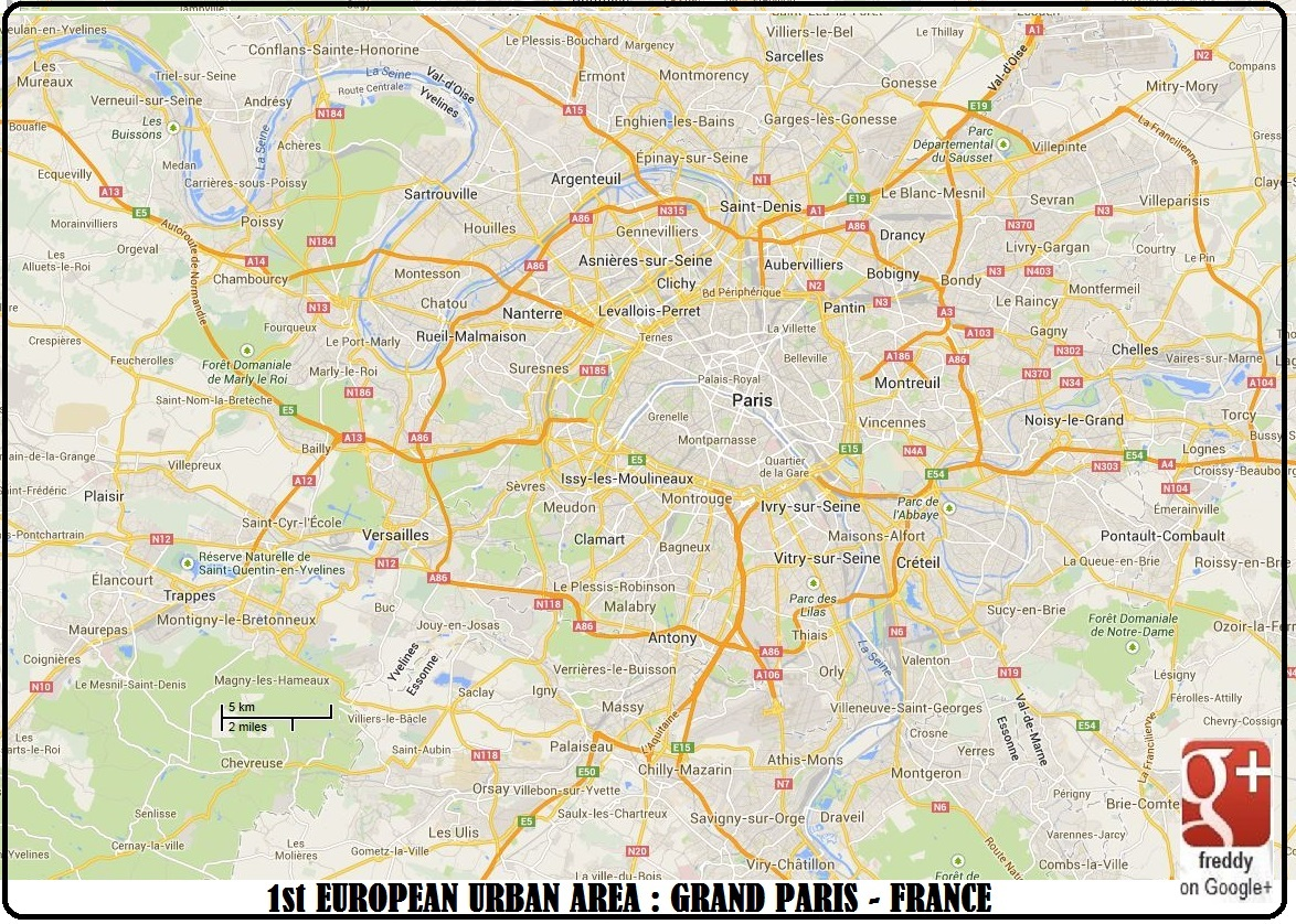1st E.U. AREA : GRAND PARIS DIEULOIS