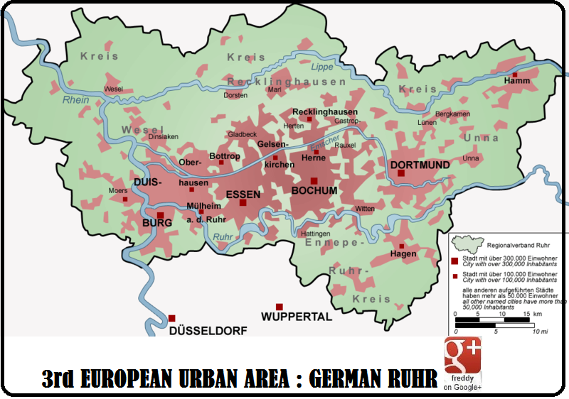 3rd E.U. AREA : GERMAN RUHR DIEULOIS