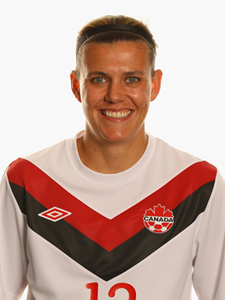 CHRISTINE SINCLAIR - CANADA  by Frederic PETIT-DIEULOIS