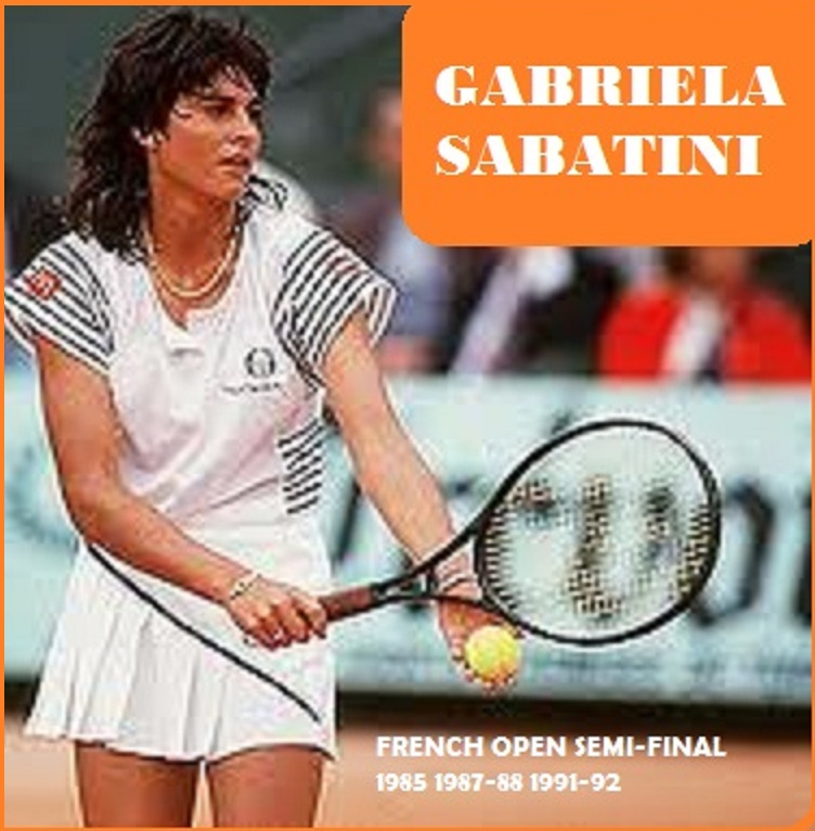 Best pictures of sportwomen : gabriela sabatini
