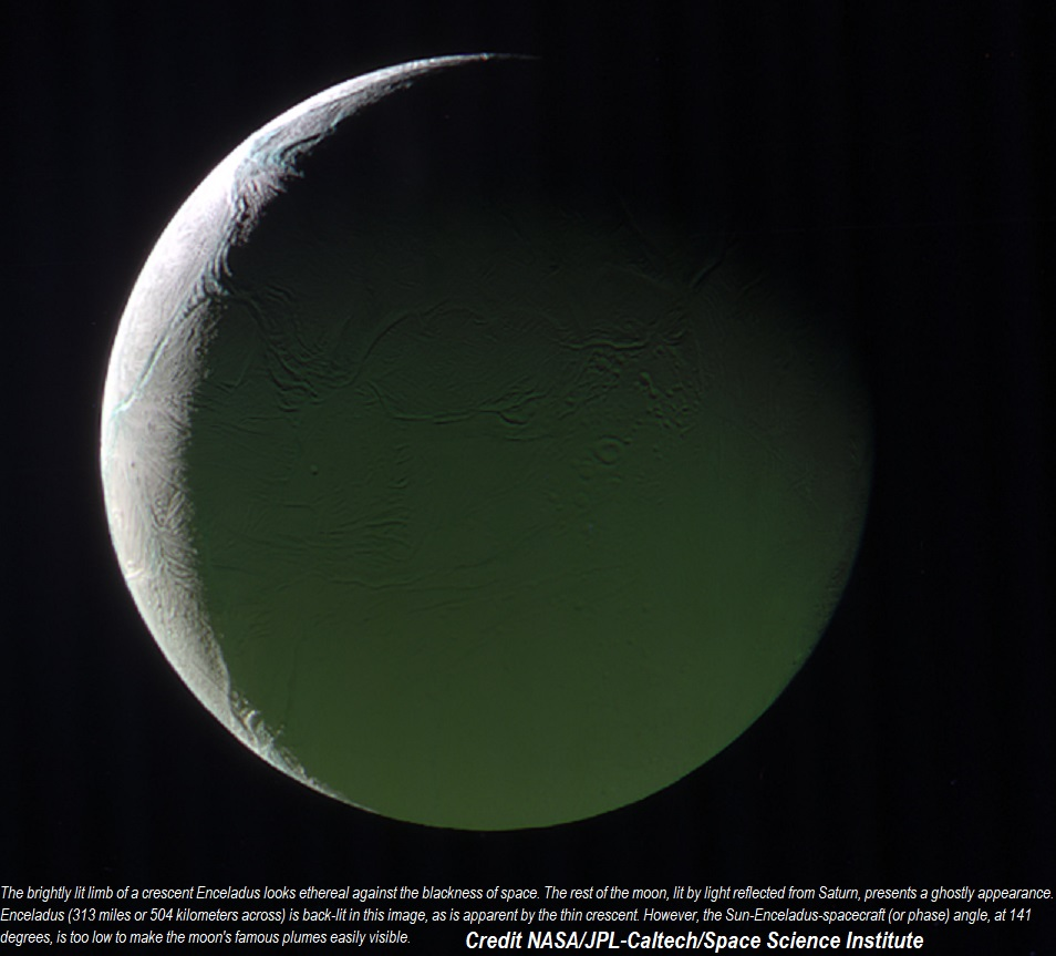 CASSINI SPACECRAFT: ENCELADUS DIEULOIS
