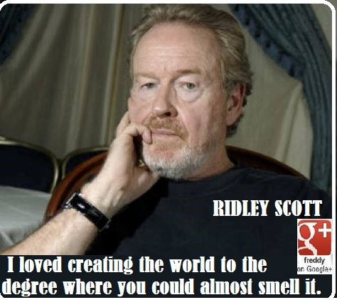 RIDLEY SCOTT by Frederic PETIT-DIEULOIS