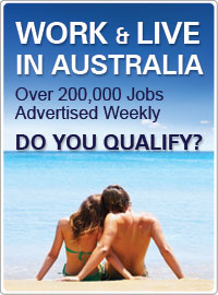 WORK AND LIVE IN AUSTRALIA