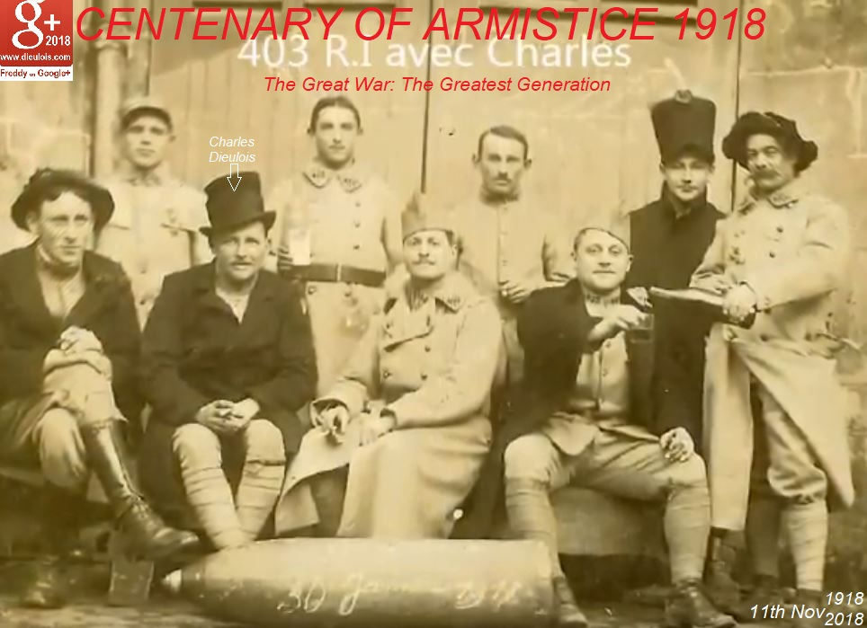 WW1 WWi 11nov18 ARMISTICE