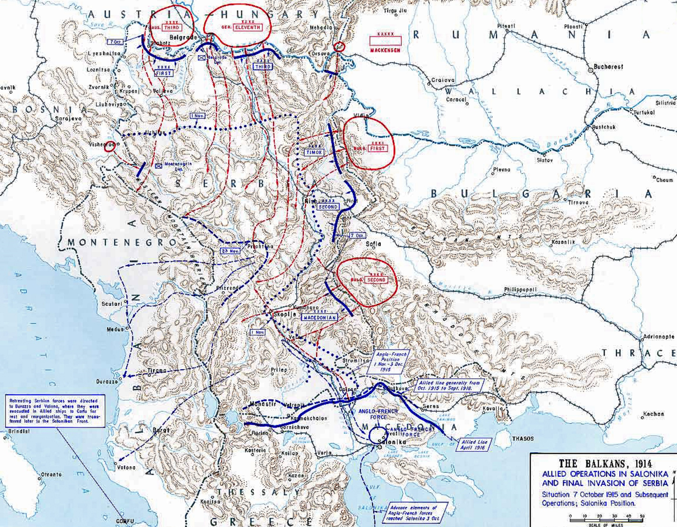 15th JANUARY CORFU!  FRANCE SAVED SERBIAN ARMY DIEULOIS