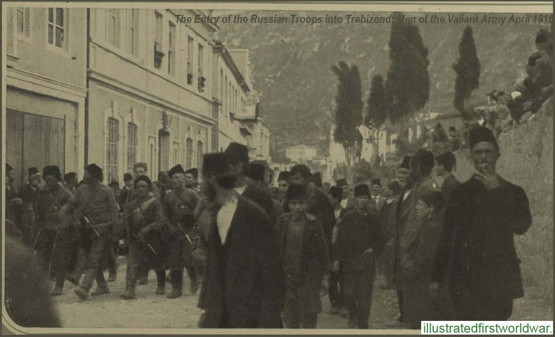 TREBIZOND - TRABZON APRIL1916
