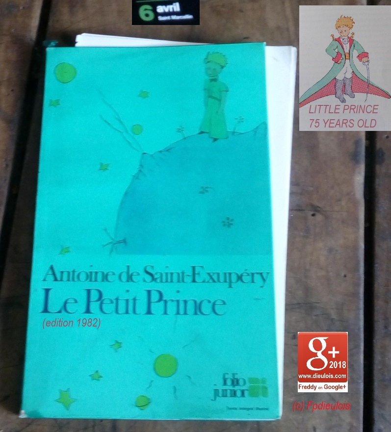 SAINT EXUPERY THE LITTLE PRINCE PETIT-DIEULOIS
