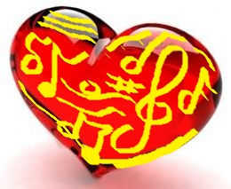 PETIT-DIEULOIS my yellow-red heart