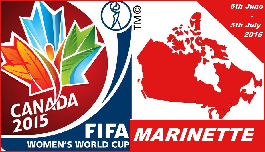 2015 FIFA MARINETTE WOMEN WORLD CUP SOCCER
