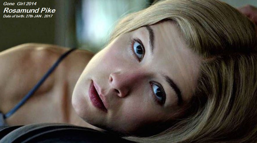 ROSAMUND PIKE : GONE GIRL PETIT-DIEULOIS