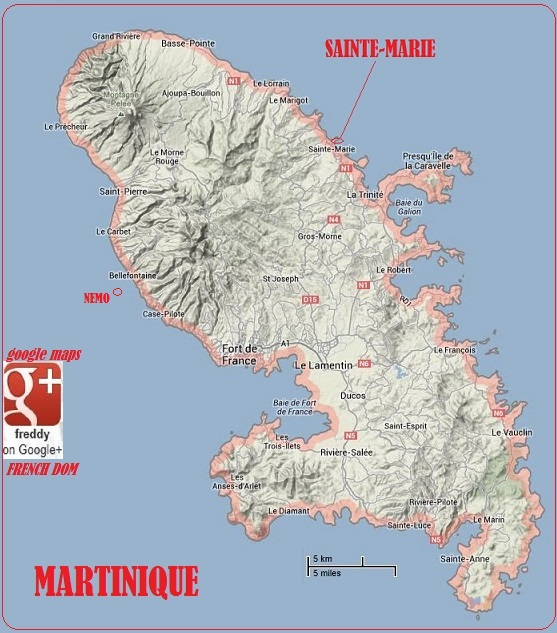 SAINTE MARIE MARTINIQUE DIEULOIS