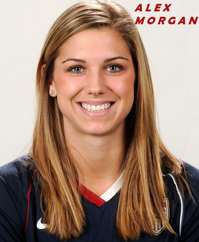 ALEX MORGAN US FORWARD PETIT-DIEULOIS