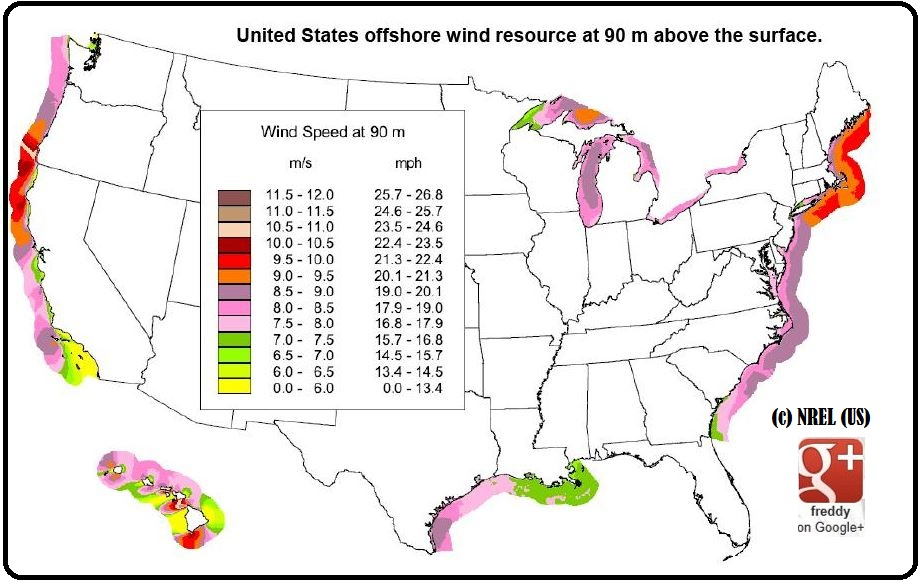 US WIND  (c) NREL : US ENERGY DIEULOIS