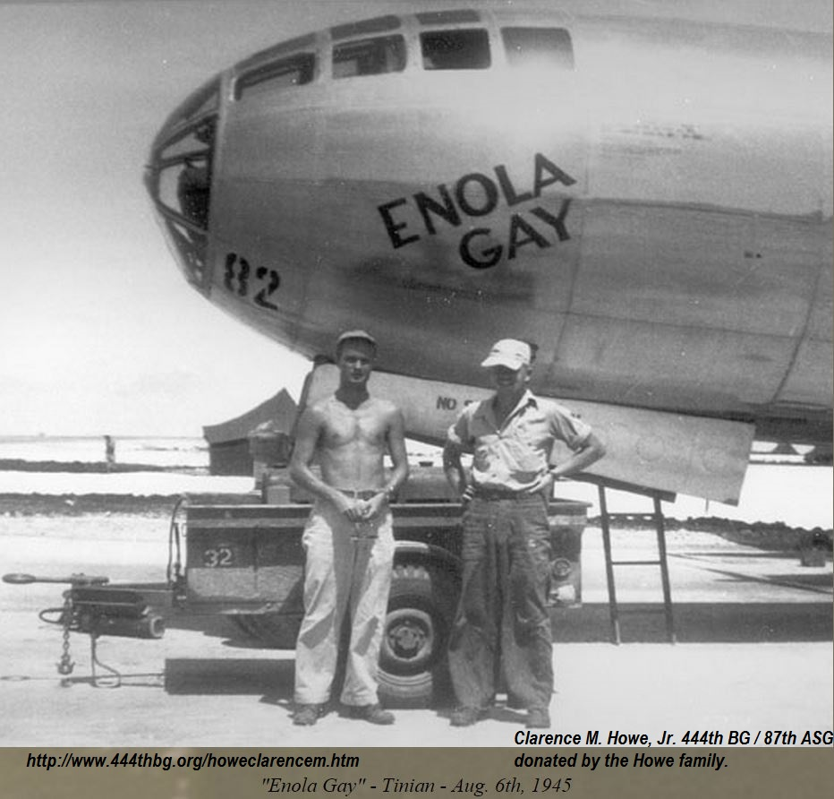 ENOLA GAY : B29 & MOTHER 1945  PETIT-DIEULOIS