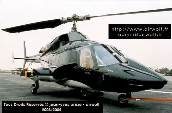 SUPERCOPTER AIRWOLF BELL 222
