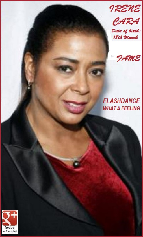 IRENE CARA WHAT A FEELING FLASHDANCE PETIT-DIEULOIS