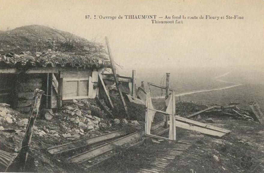 THIAUMONT 1916 GREAT-GRANDFATHER DIEULOIS
